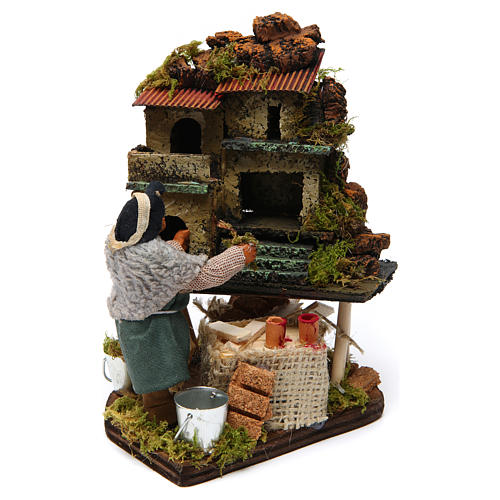 Nativity scene artist, Neapolitan nativity figurine 10cm 2