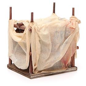 Mercante moro con tenda 10 cm presepe Napoli s3