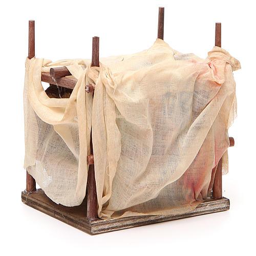 Mercante moro con tenda 10 cm presepe Napoli 3