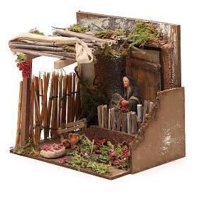 Tomato picking scene, Neapolitan Nativity 10cm s2