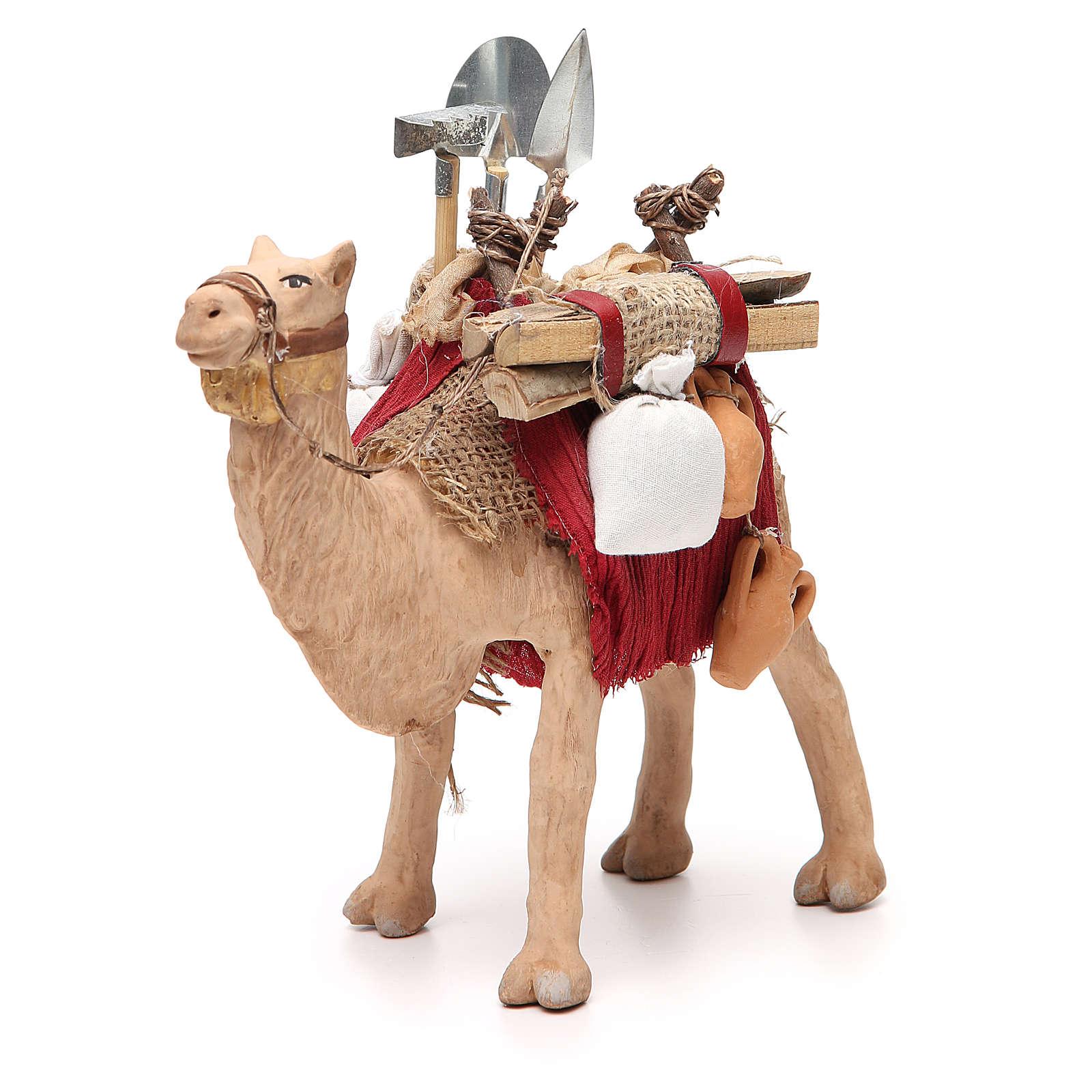 6c20f376797 Camello enjaezado con carga 14 cm belén Napolitano 4