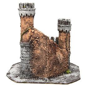 Castillo corcho 28x26x26 cm belén napolitano s4