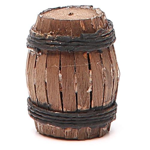 Barrel 4cm neapolitan Nativity 1