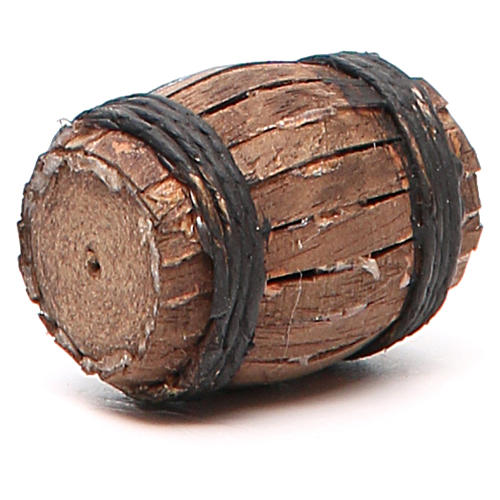 Barrel 4cm neapolitan Nativity 2