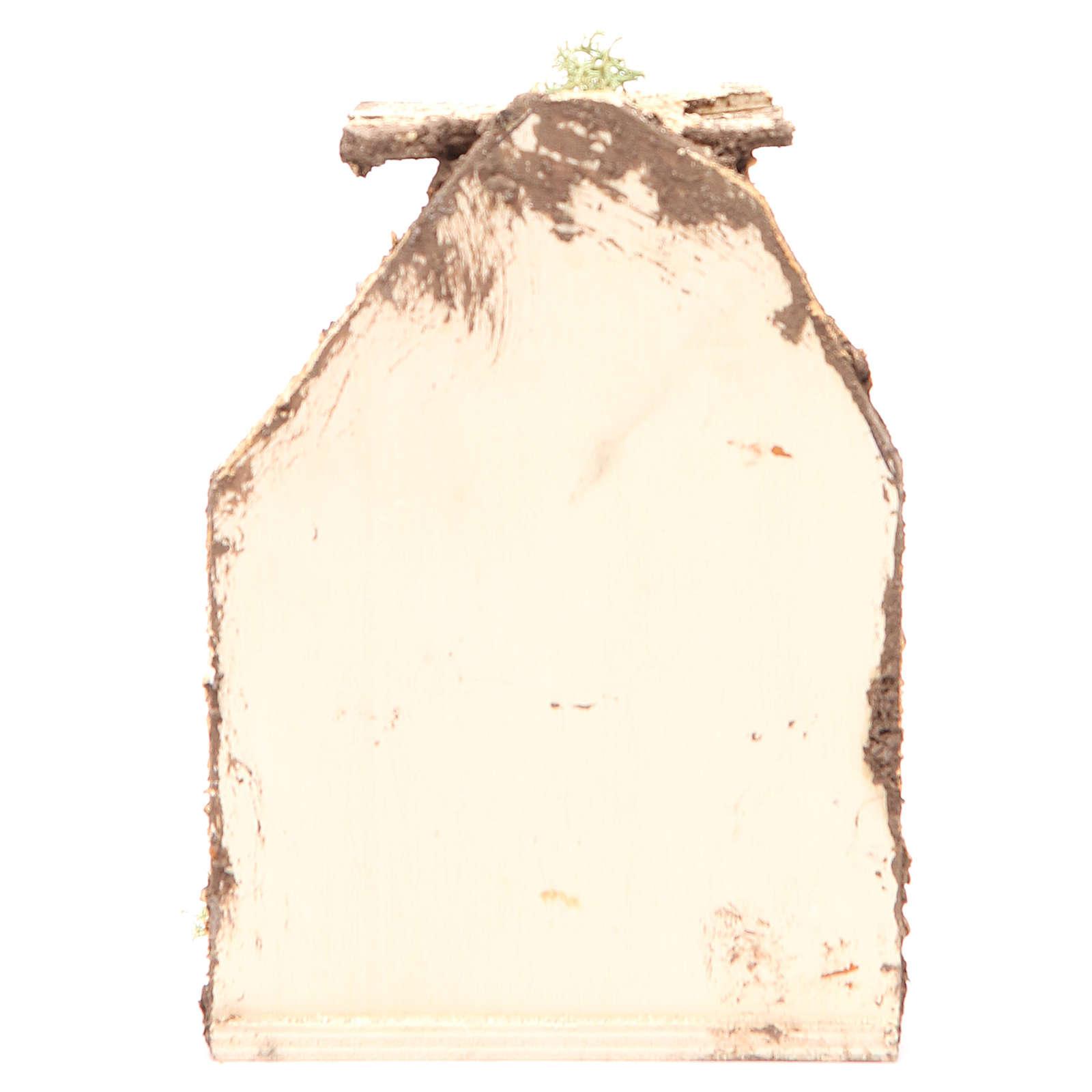 Scène avec fromages 15x10x9 cm crèche napolitaine 4
