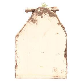 Scène avec fromages 15x10x9 cm crèche napolitaine s4