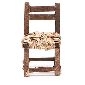 Sedia legno h 6 cm presepe napoletano s5