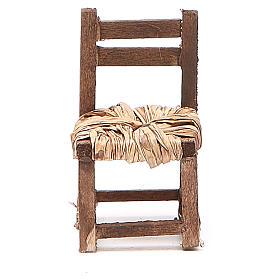Sedia legno h 6 cm presepe napoletano s3