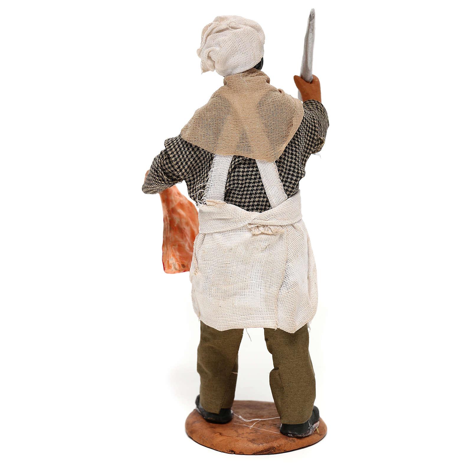 Butcher 14cm neapolitan Nativity 4