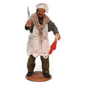 Butcher 14cm neapolitan Nativity s1