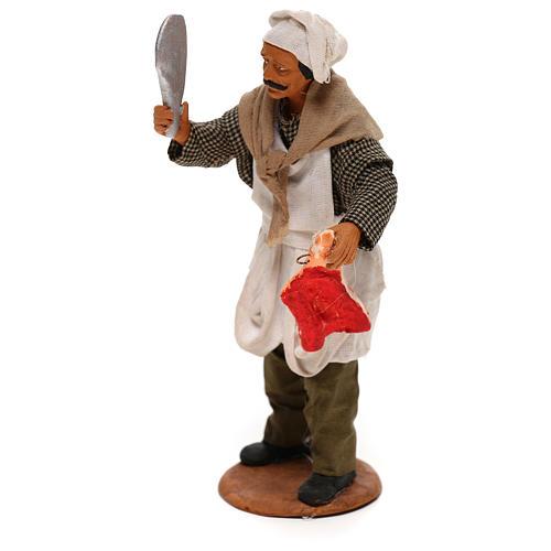 Butcher 14cm neapolitan Nativity 2