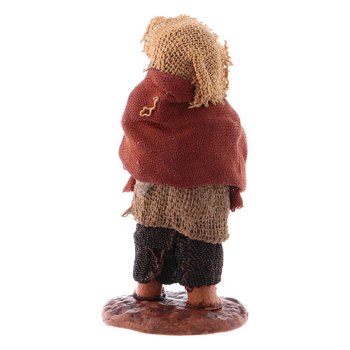 Little boy standing with ball 10cm neapolitan Nativity 2