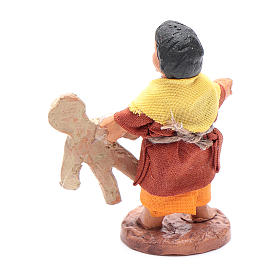 Fanciullo con orsetto 10 cm presepe napoletano s2
