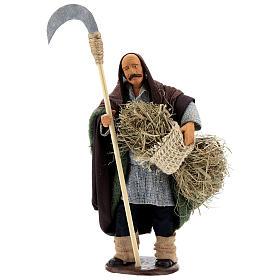 Man with sickle 14cm neapolitan Nativity s1