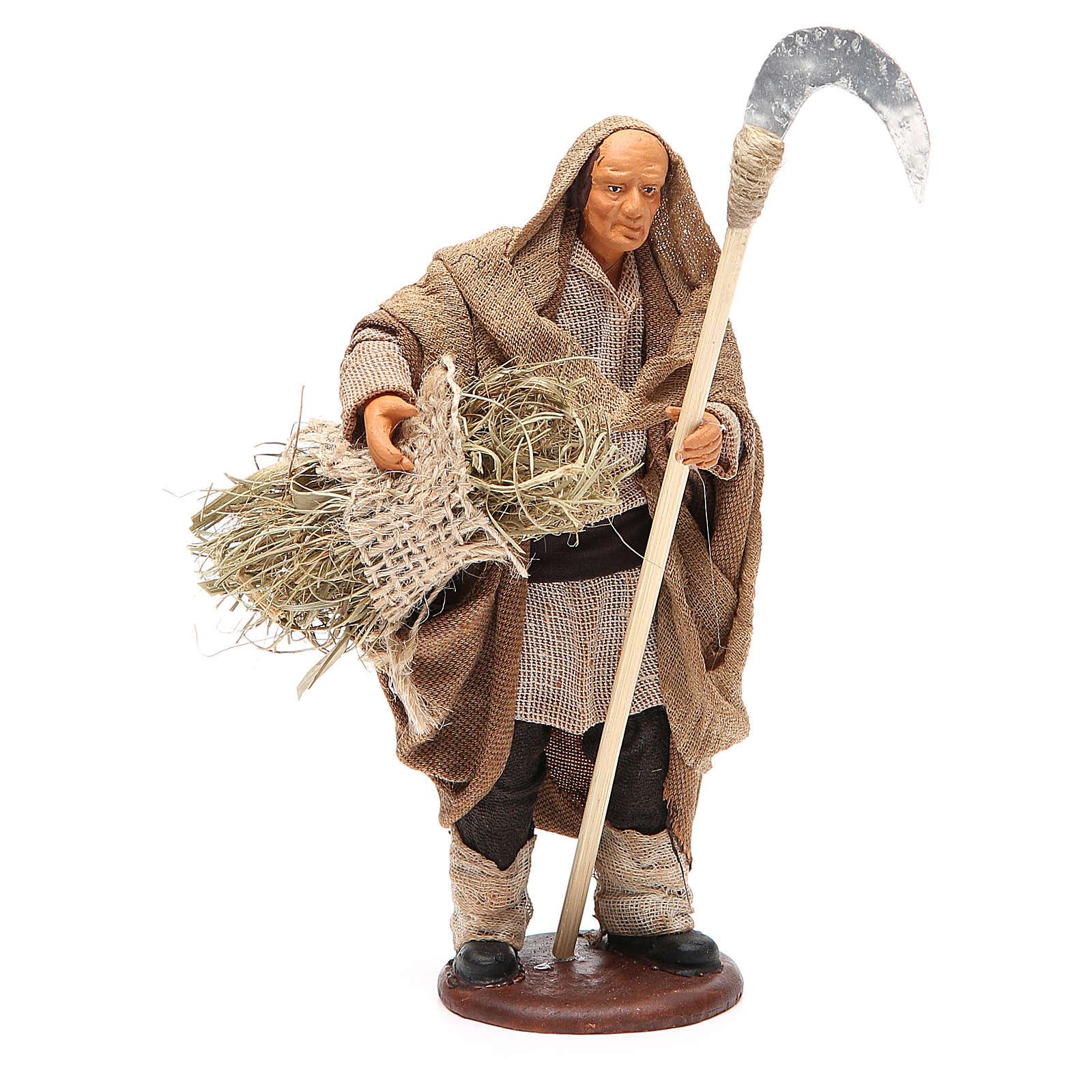 Man with sickle 14cm neapolitan Nativity 4