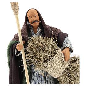 Man with sickle 14cm neapolitan Nativity s2