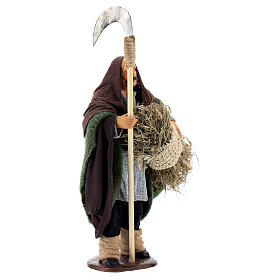Man with sickle 14cm neapolitan Nativity s4