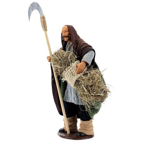 Man with sickle 14cm neapolitan Nativity 3