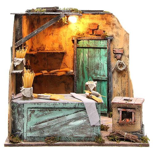 Pasta maker scenery 42x45x38cm neapolitan nativity 1