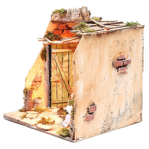 Ambiente cantina fontana 28x26x24 cm presepe napoletano 2