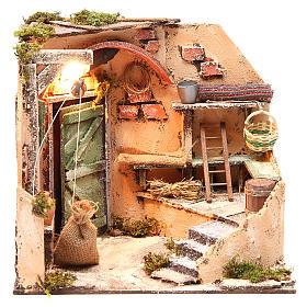 Ambiente cantina 28x26x24 cm presepe di Napoli s1