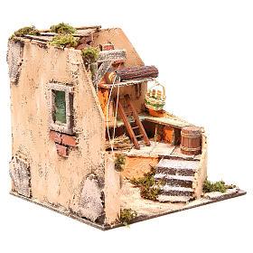 Ambiente cantina 28x26x24 cm presepe di Napoli s3