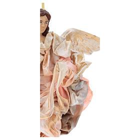 Angelo rosa 30 cm presepe napoletano s2