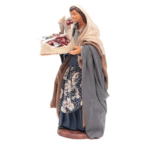 Mujer con saco de semillas en mano 14 cm 2