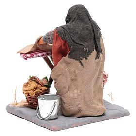 Mujer planchando 10 cm Belén napolitano s3
