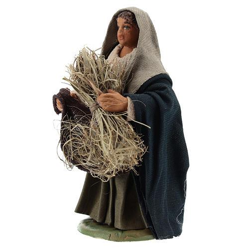 Reaper woman 10cm, Neapolitan Nativity figurine 2