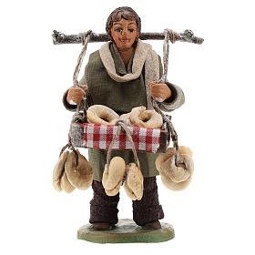 Taralli seller 10cm, Neapolitan Nativity figurine s1