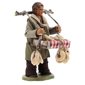 Taralli seller 10cm, Neapolitan Nativity figurine s3
