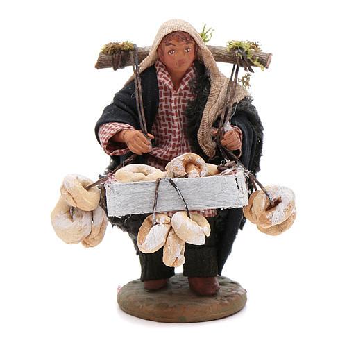 Taralli seller 10cm, Neapolitan Nativity figurine 1