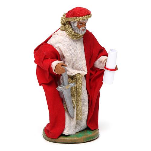 King Herod 10cm Neapolitan Nativity figurine 3