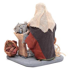 Washwoman 10cm, Nativity figurine s3