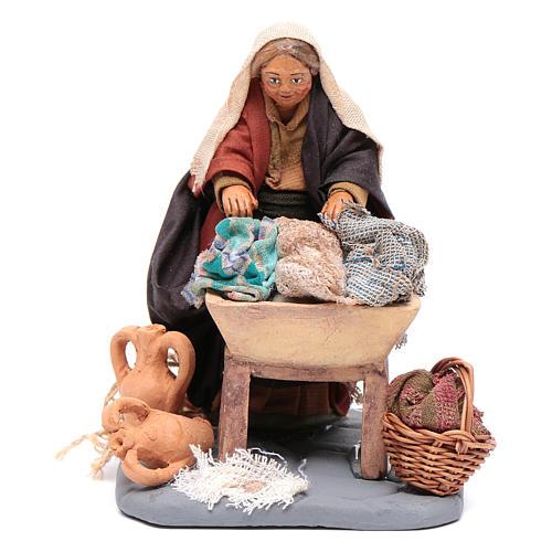 Washwoman 10cm, Nativity figurine 1