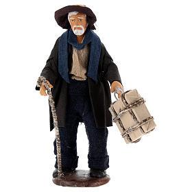 Hombre con maleta 12 cm Belén napolitano s1