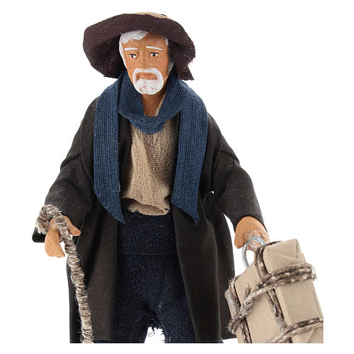 Hombre con maleta 12 cm Belén napolitano 2