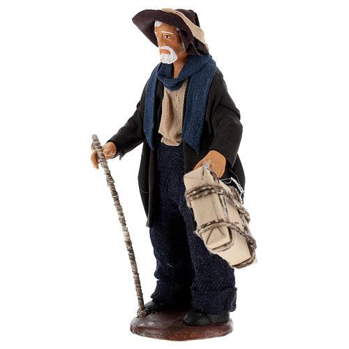 Hombre con maleta 12 cm Belén napolitano 3