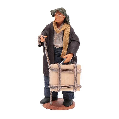 Uomo con valigia di 12 cm presepe napoletano 1