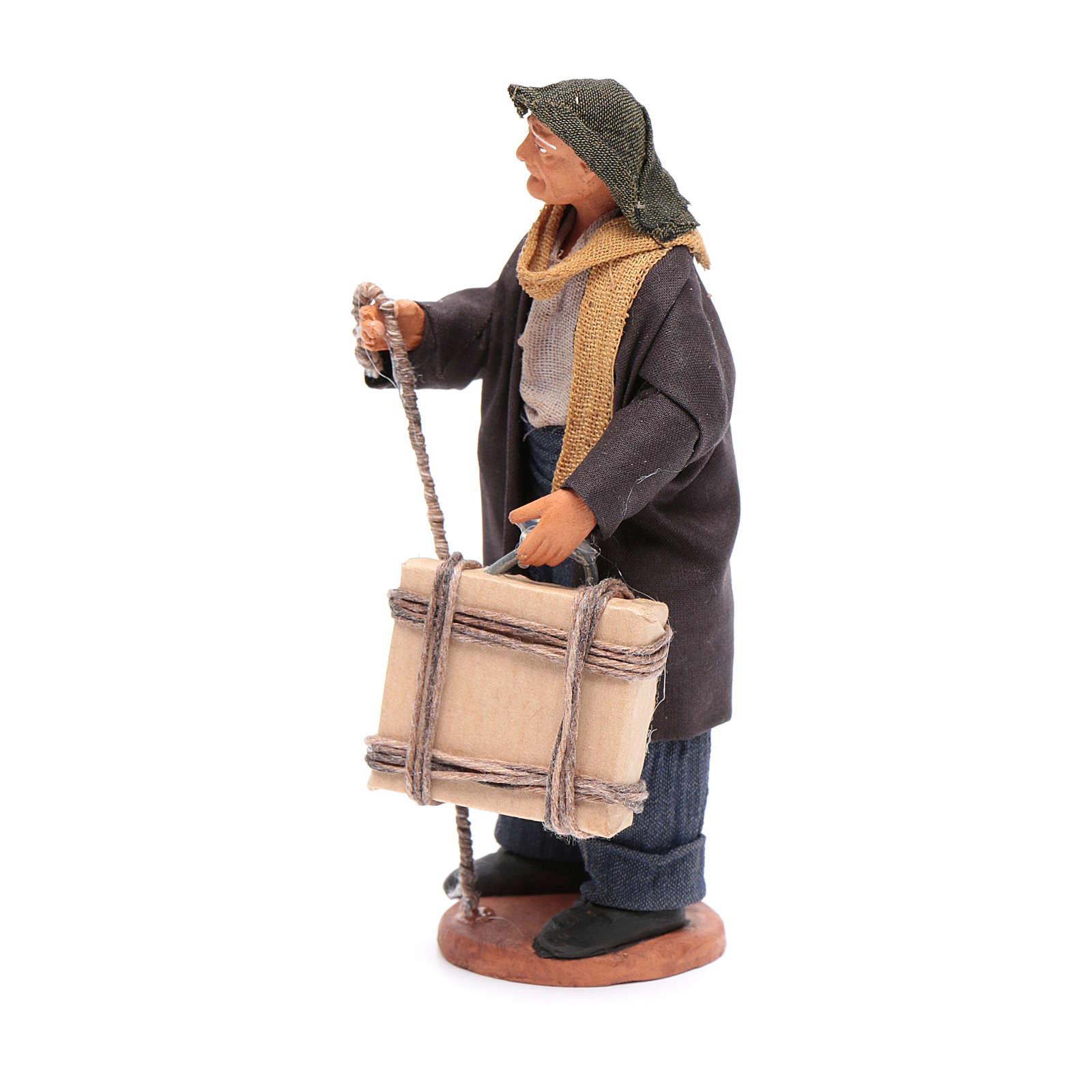 Man with case 12cm Neapolitan Nativity 4