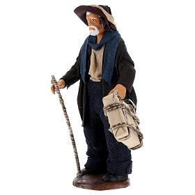 Man with case 12cm Neapolitan Nativity s3