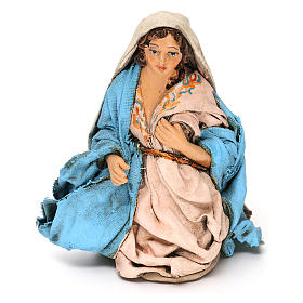 Virgin Mary 12 cm Neapolitan Nativity, terracotta s5