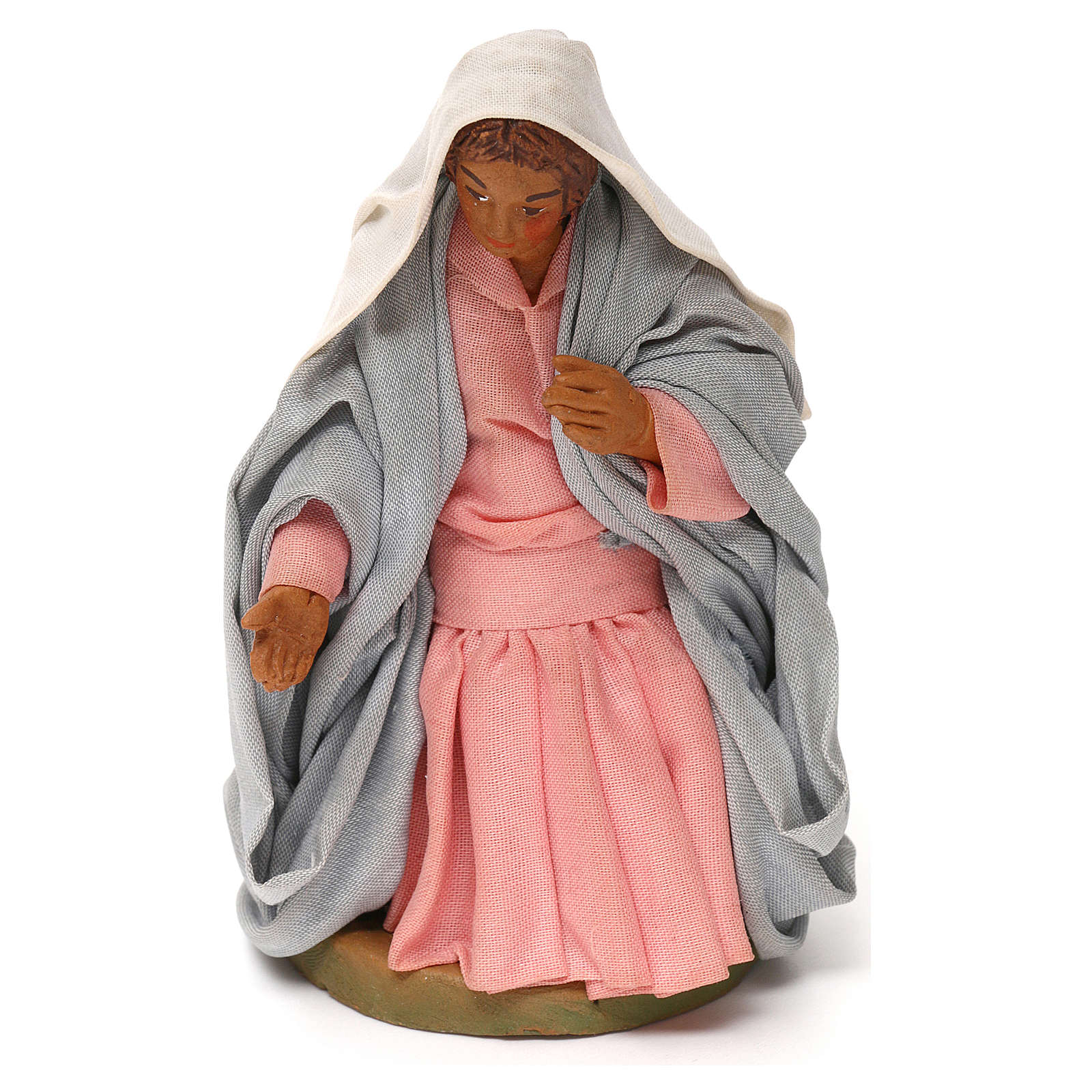 Virgen para Belén napolitano12 cm 4