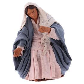 Virgen para Belén napolitano12 cm s1