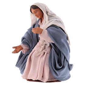 Virgen para Belén napolitano12 cm s2