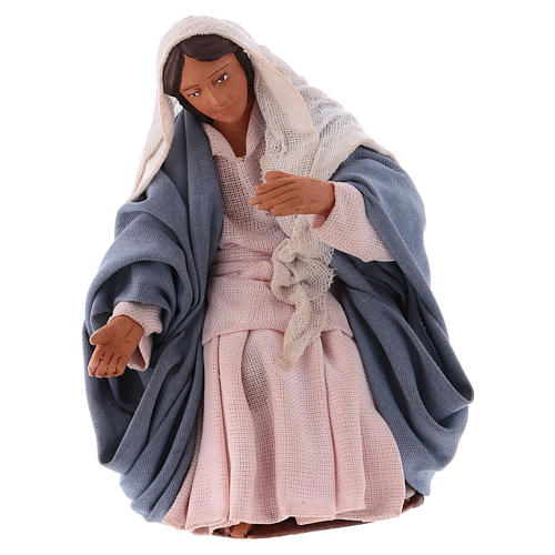 Virgen para Belén napolitano12 cm 1