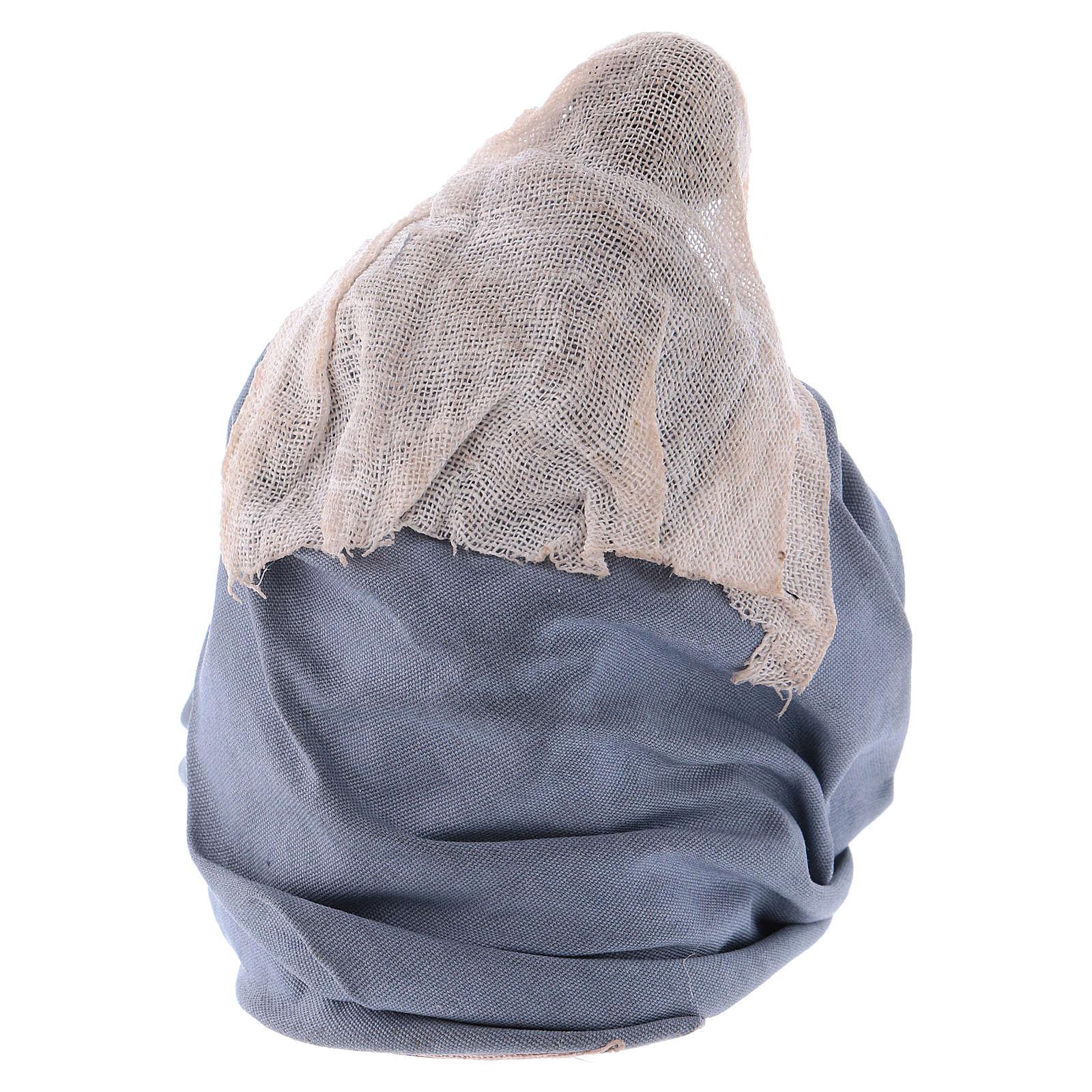 Madonna per presepe napoletano 12 cm 4