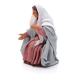 Madonna per presepe napoletano 12 cm s2