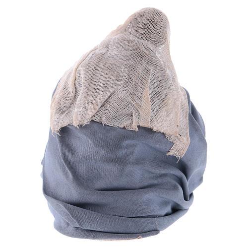 Madonna per presepe napoletano 12 cm 3